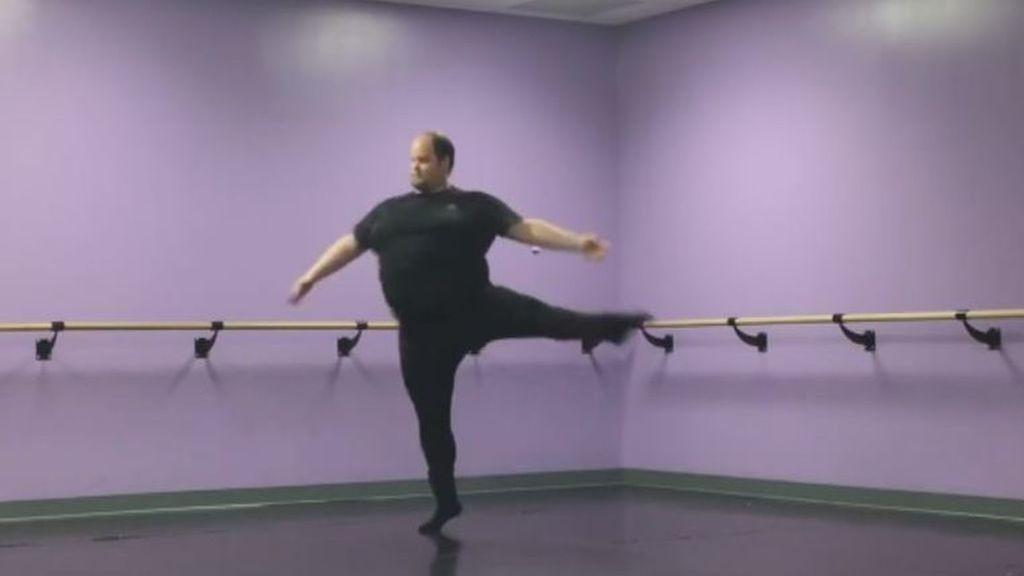 Erik Cavanaugh, el atípico bailarín que emociona a las redes