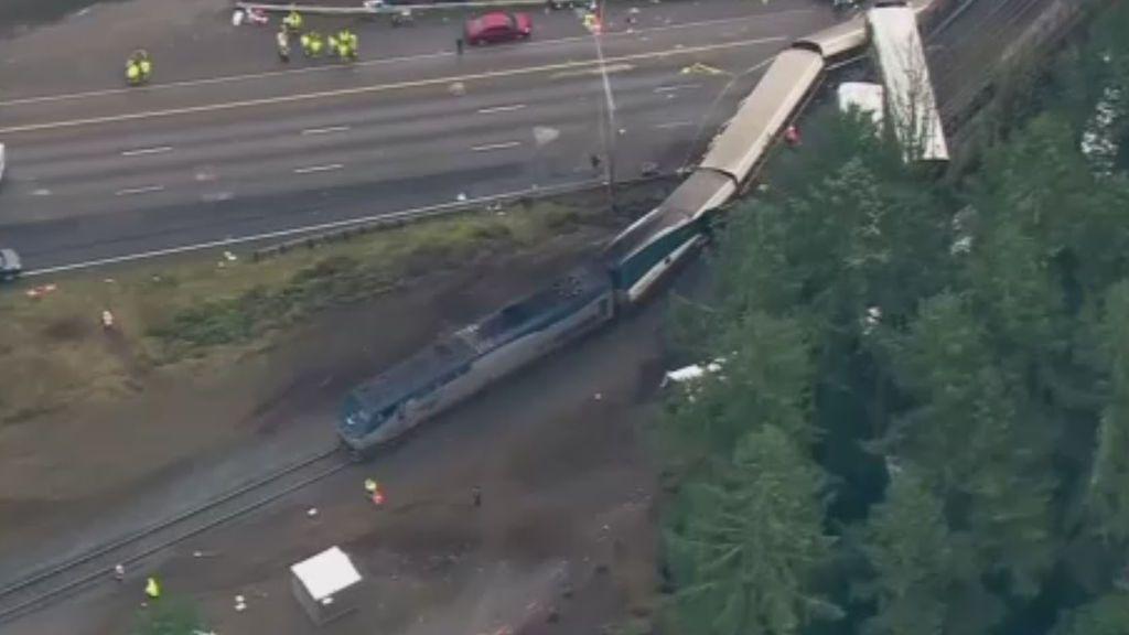 El tren accidentado viajaba a 130 km/h en una zona de 50 km/h
