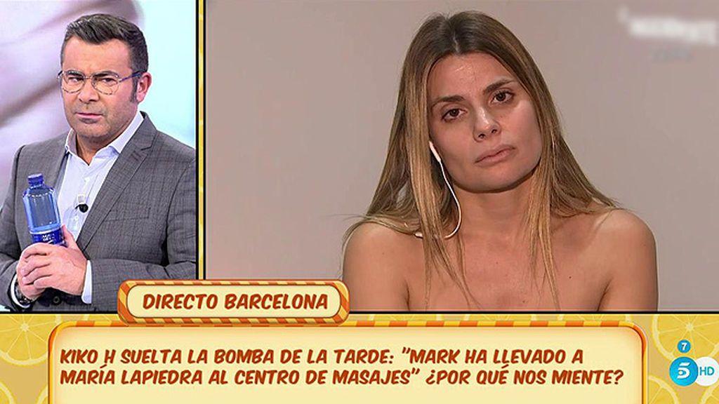 """María Lapiedra: """"Mark y yo nos vamos a separar"""""""