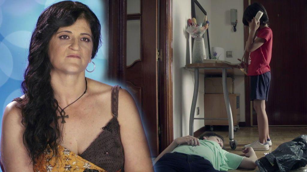 """Susana, víctima de maltrato: """"Mi hijo fue el que me salvó la vida llamando a la policía"""""""