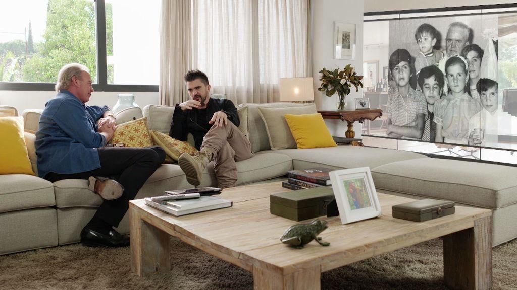 """Juanes: """"De pequeño era muy, muy gordito, solo comía patatas fritas"""""""