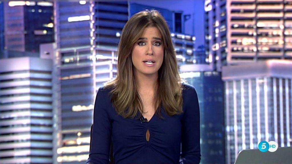 Isabel Jiménez, presentadora de 'Informativos Telecinco'.