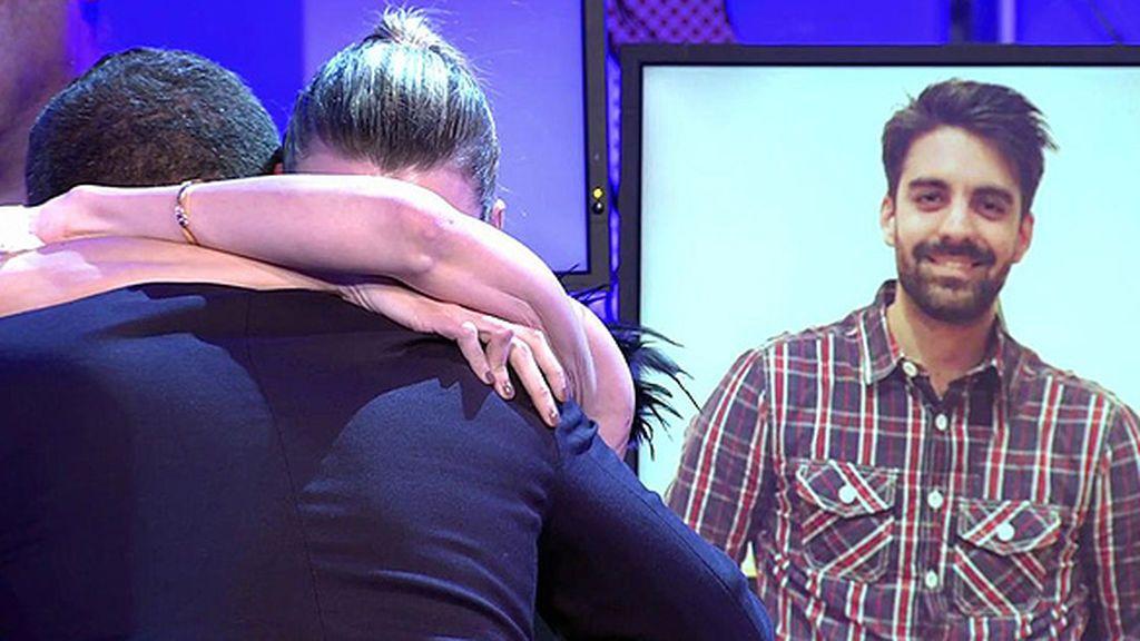 """María Lapiedra se rompe y le dice a Jorge Javier: """"¿Te puedo abrazar?"""""""