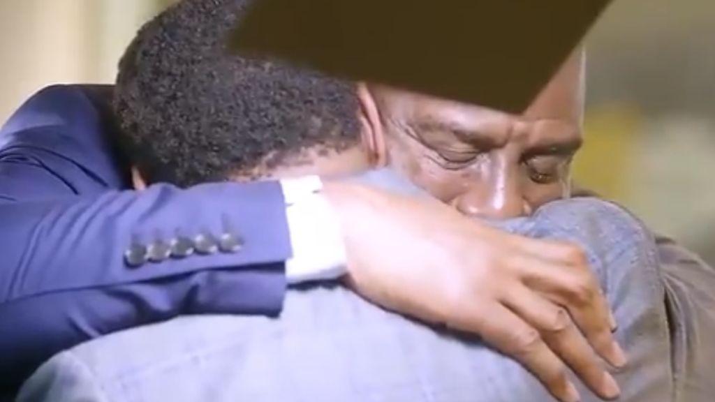 La foto que esperaba toda la NBA: Magic Johnson e Isiah Thomas hacen las paces entre lágrimas