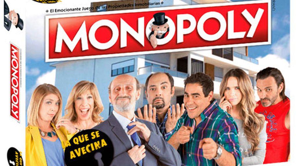 El Monopoly de 'LQSA' que se vende en miTienda Mediaset.