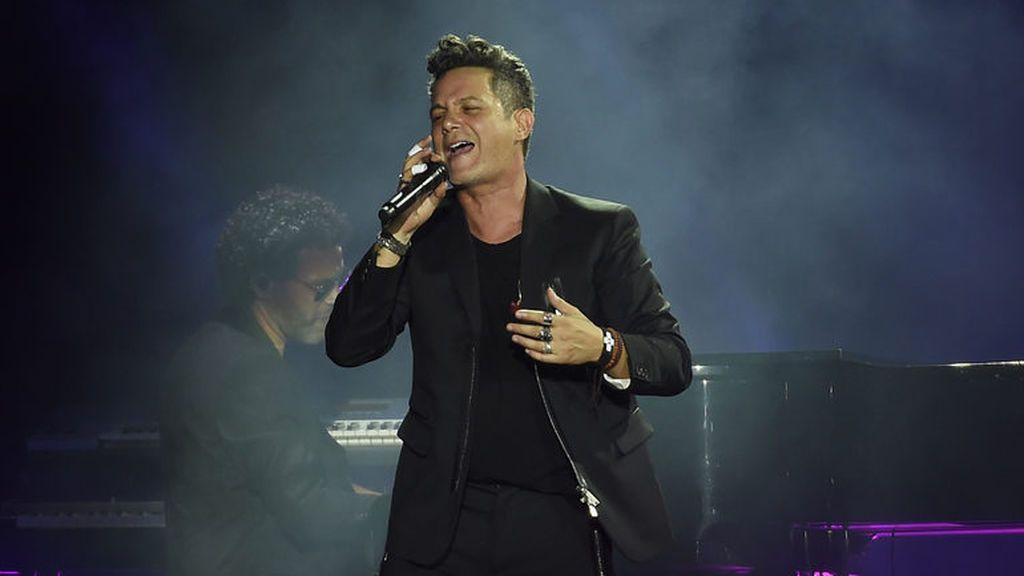 Alejandro Sanz durante el concierto '+ es +'.