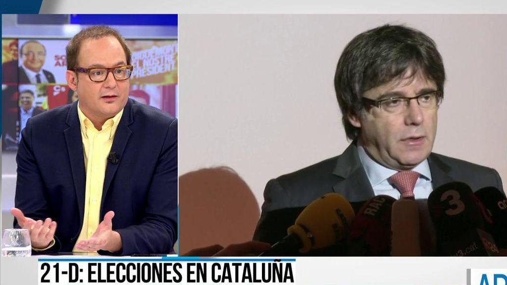 Puigdemont veta la entrada a su rueda de prensa a los periodistas españoles