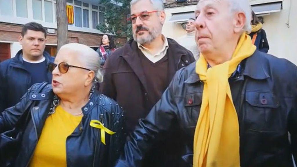 """Gritos contra Arrimadas: """"Esta señora de presidenta, aquí no, porque no es catalana"""""""