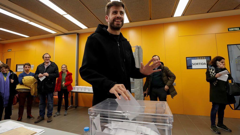 """Piqué: """"Se ha demostrado que poder votar en este país no siempre era posible"""""""