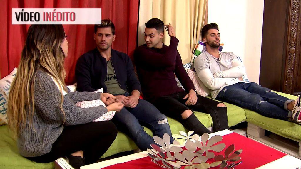 Exclusivo en telecinco.es: Melani les cuenta a sus compañeros la salida de Joni del trono