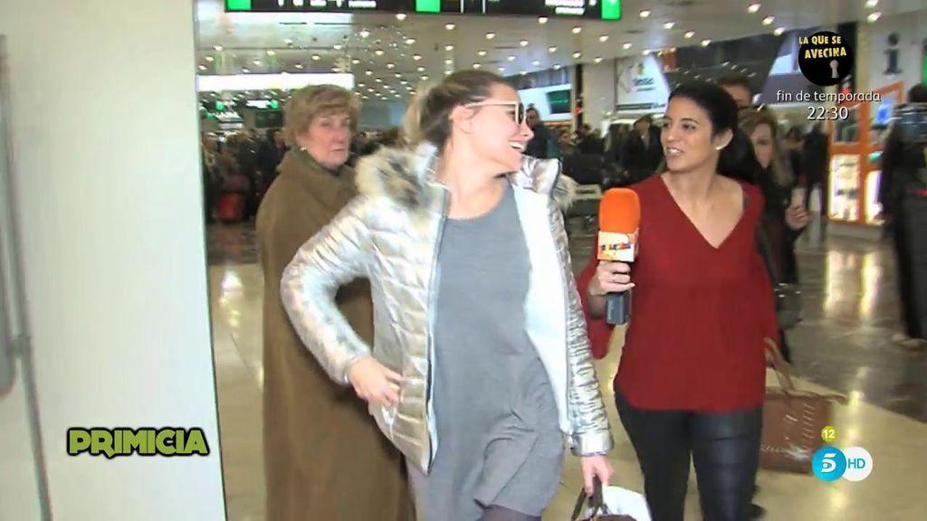 Laura Lago pilla en una mentira a María Lapiedra: Dice que pasó la noche en Madrid porque perdió el tren, pero no es cierto