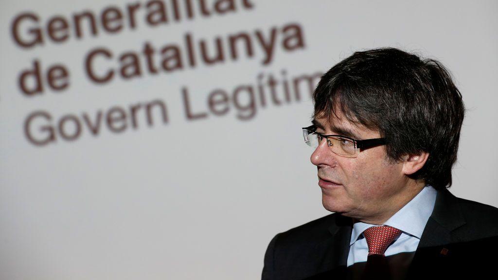 """Puigdemont desde Bruselas: """"No se trata de una jornada normal, hay candidatos en la cárcel y en el exilio"""""""