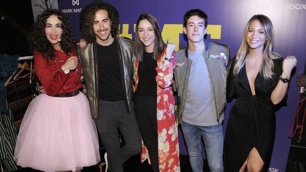 Cristina Rodríguez y sus cambios express causaron sensación en la #MeNowParty