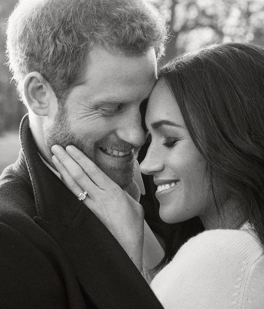 Se hacen públicas las fotos oficiales del compromiso de Harry de Inglaterra y Meghan Markle