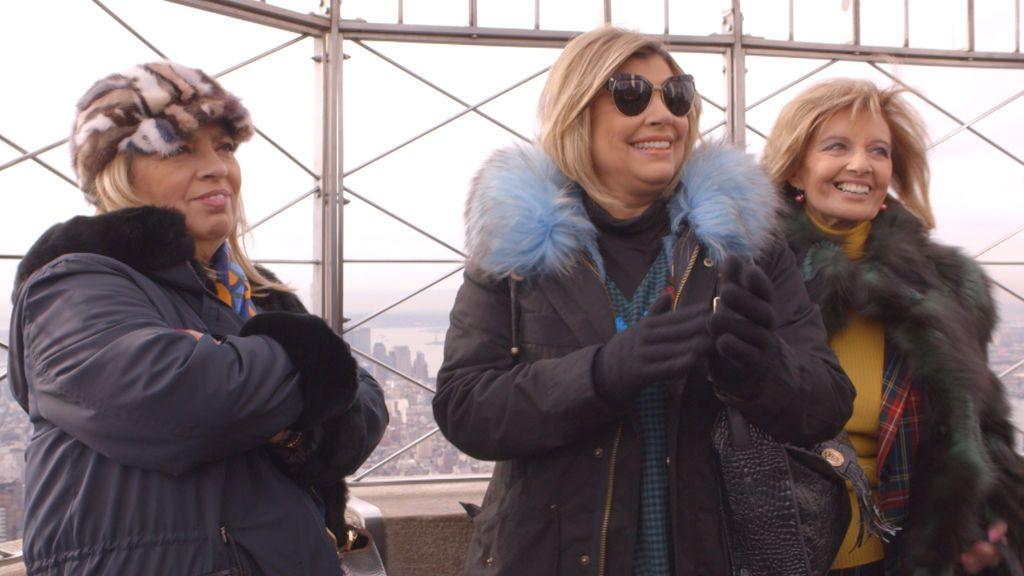 Carmen Borrego, Terelu Campos y María Teresa Campos, protagonistas del 'docushow' 'Las Campos'.