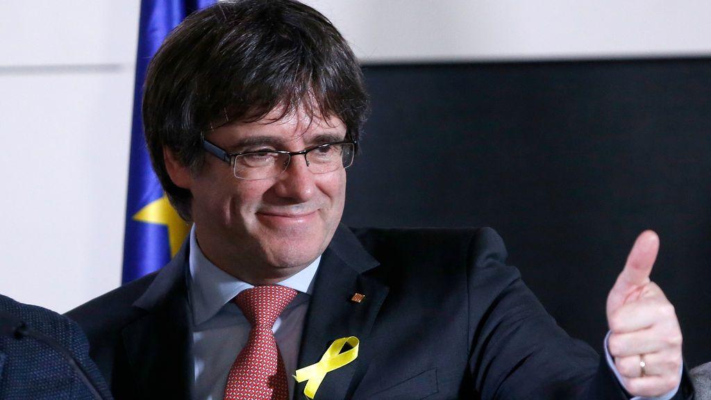 Puigdemont, desde Bruselas,  exige que los presos salgan de prisión