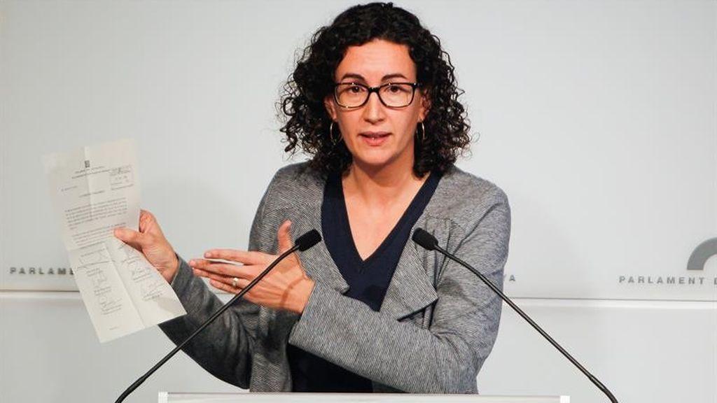 """Marta Rovira ve un """"disparate"""" que el Supremo la investigue y esgrime el resultado del 21D"""