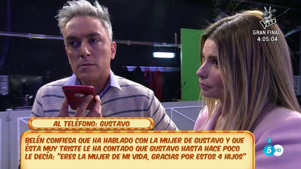 María Lapiedra confirma que se vio con Gustavo tras su intervención en 'Sálvame'