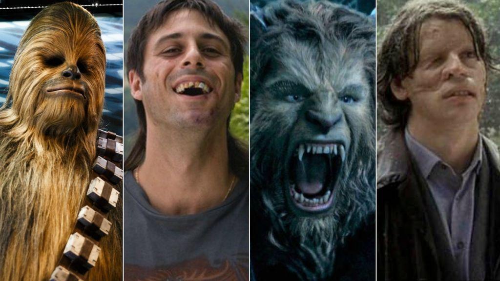 Chewbacca es feo y la Bestia también: vips feos por exigencias del guion