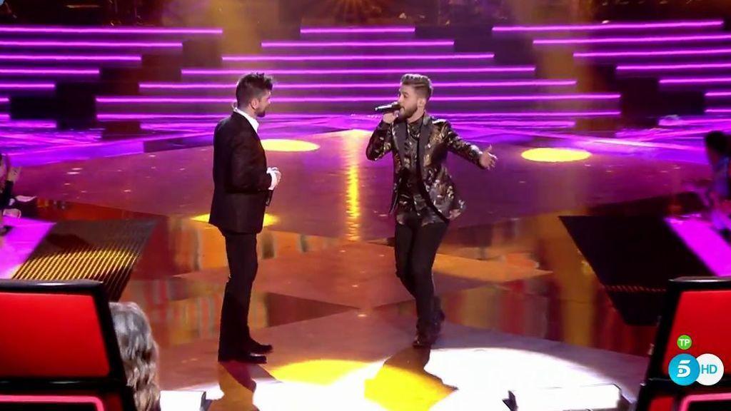 ¡Qué lujo! El mítico 'Es por ti' de Juanes, a dúo con su finalista Pedro