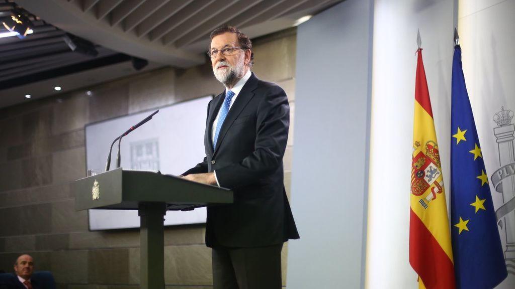 """Rajoy """"asume como propio"""" un resultado del PP en Cataluña con el que no está contento"""