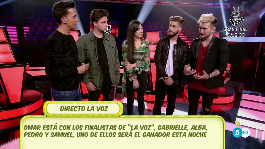 Los nervios y las bromas de los finalistas de 'La Voz' a pocas horas de la gran final