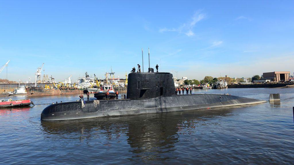 Detectan una nueva señal que podría ser del submarino argentino 'ARA San Juan'