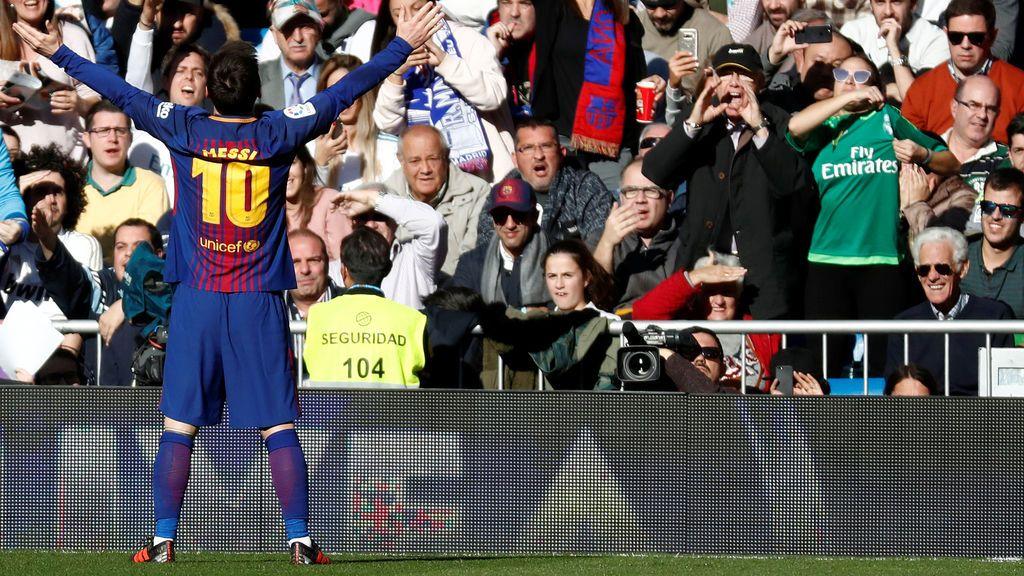 El Barça le pide a Papá Noel una liga tras vencer al Real Madrid en el Bernabéu (0-2)