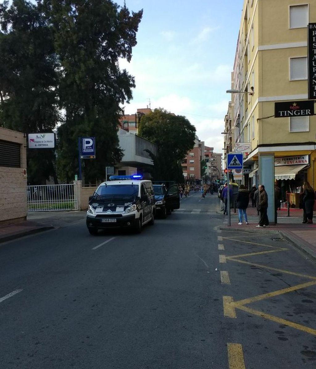 Tres fallecidos y dos heridos en una colisión entre un turismo y una furgoneta en Murcia