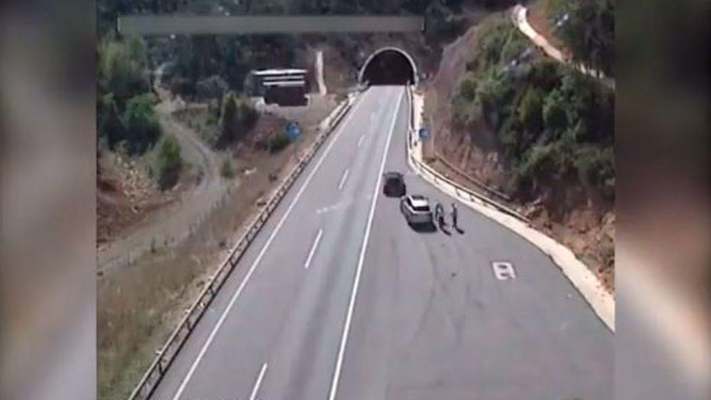 Cae una banda que robó 50.000 euros a turistas en áreas de servicio de Cataluña
