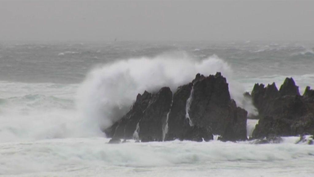 Bruno, la borrasca que azota ya al noreste peninsular con rachas de viento de 130km/h