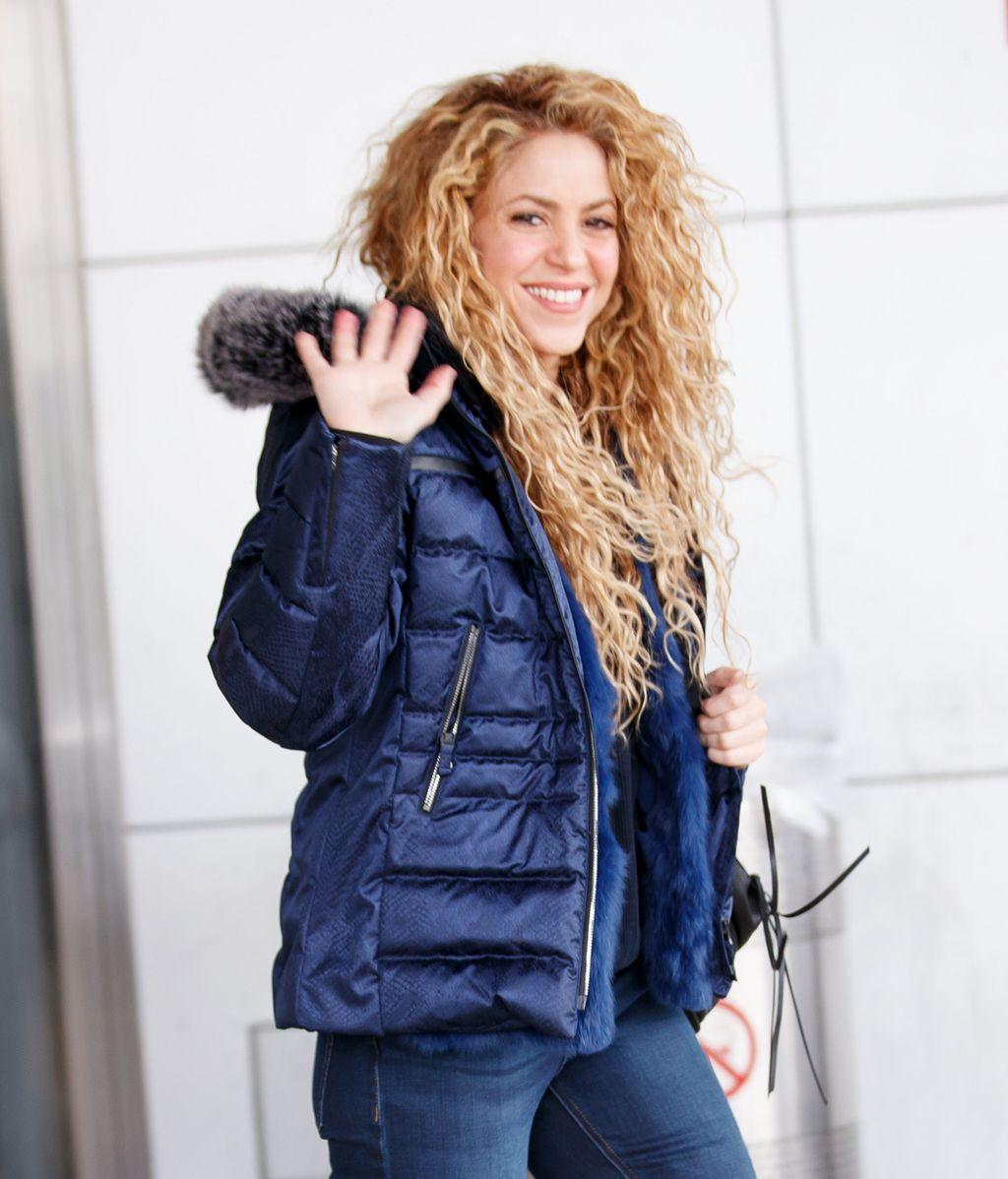 Shakira, sonriente, afronta 2018 con el objetivo de retomar su gira El Dorado dejando atrás sus problemas de salud