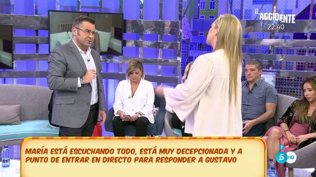 "Jorge Javier advierte a Gustavo sobre  María Lapiedra: ""Vais a romper y tú te vas a enterar por la prensa"""