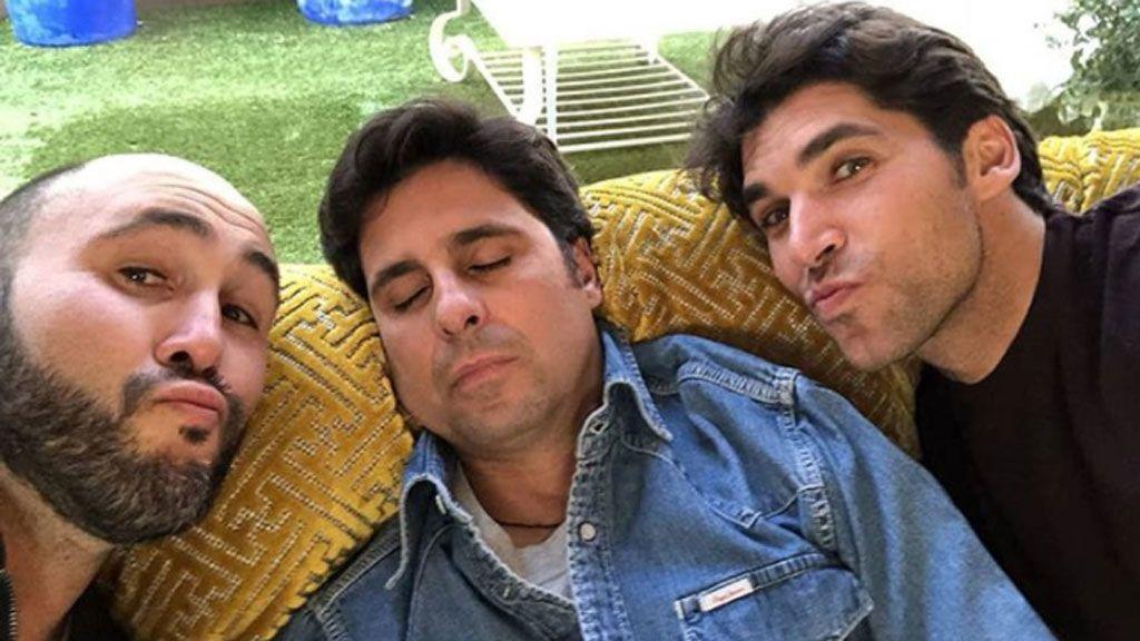El reencuentro de los hermanos Rivera (y la siesta postcomilona de Fran)