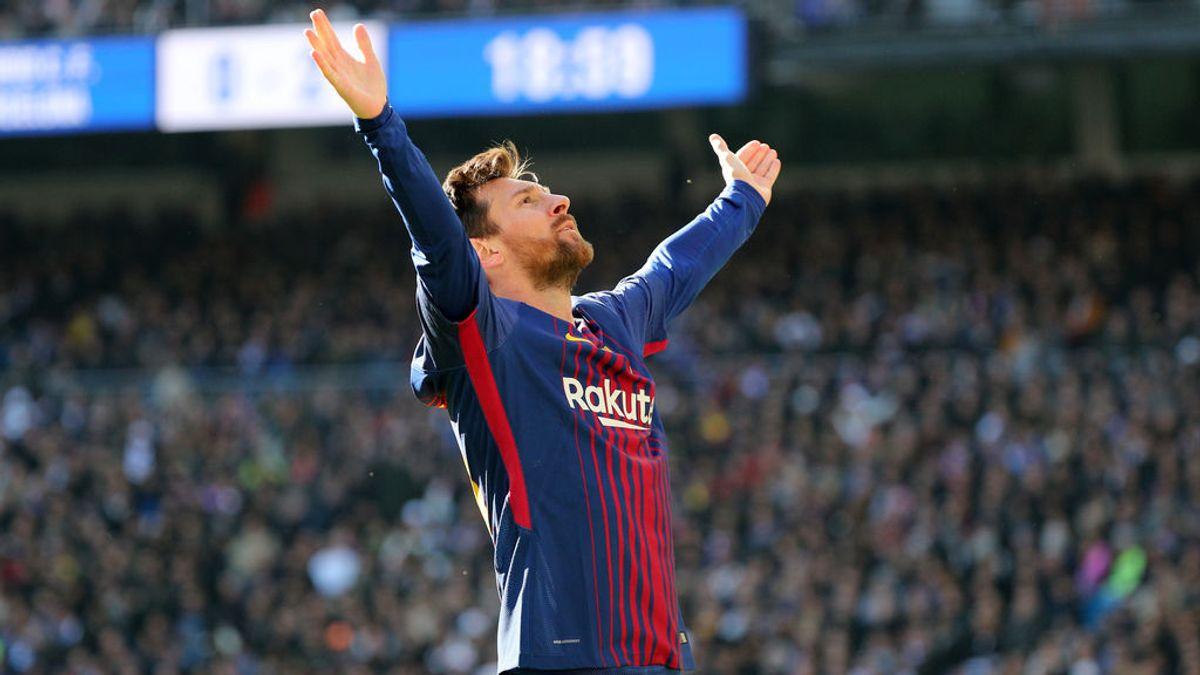 Le ponen la música de Titanic a la celebración de Messi en el Bernabéu y las redes enloquecen