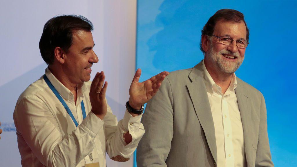 """Maíllo defiende a Rajoy tras el revés del PP en las elecciones catalanas: """"No se estaba examinando"""""""