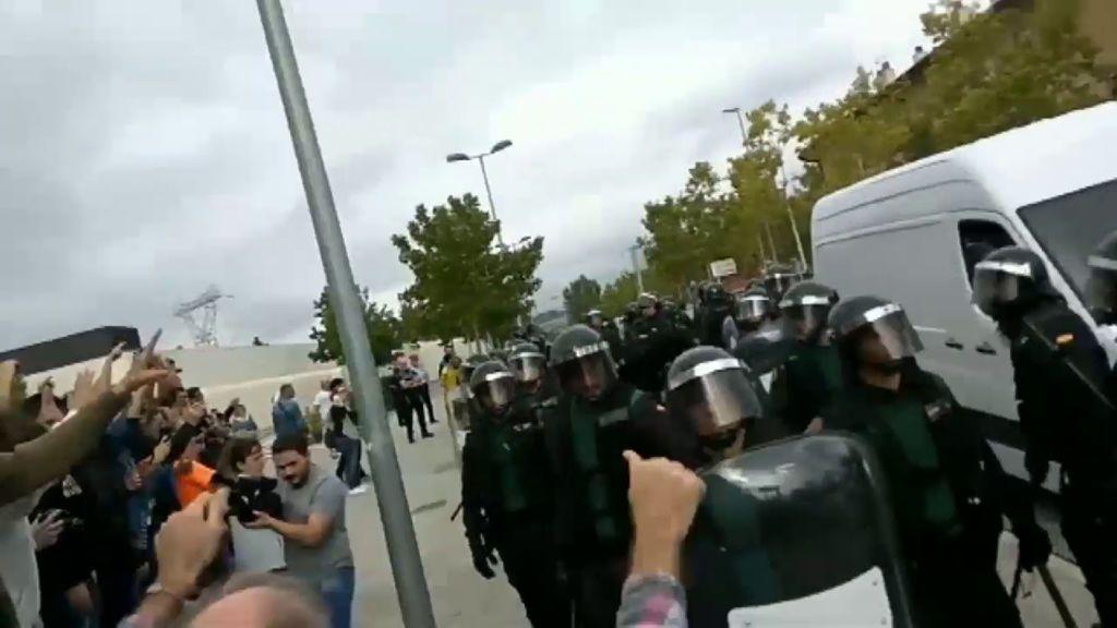 Fin a un despliegue policial en Cataluña que ha dado mucho de qué hablar