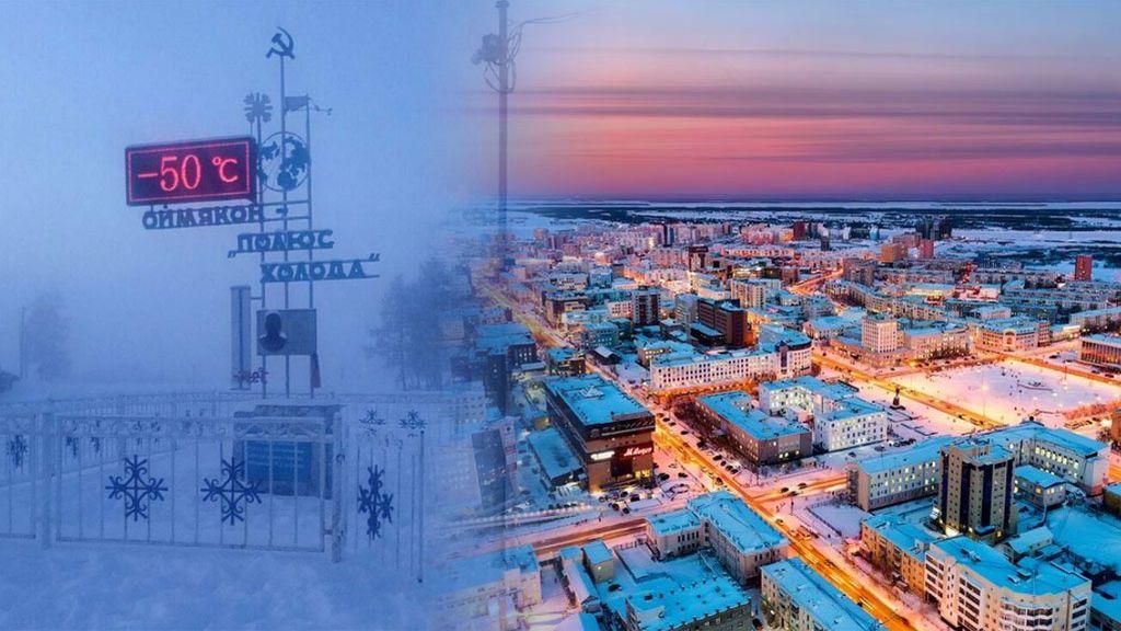 Yakutsk, sobrevivir a 50 grados bajo cero. Diez curiosidades de la ciudad más fría del mundo