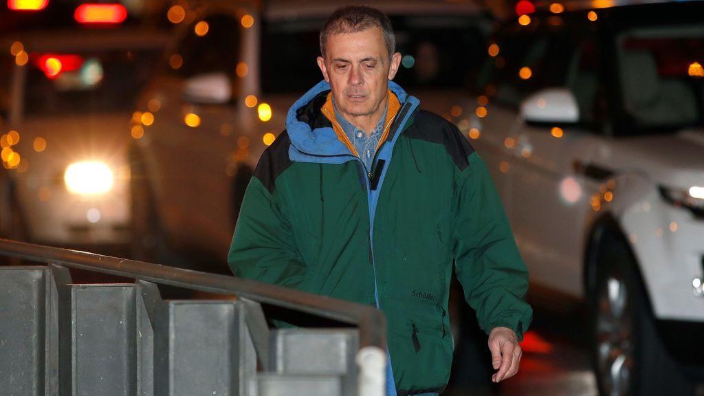 Jordi Pujol Ferrusola pasa por la Audiencia Nacional tras salir de prisión