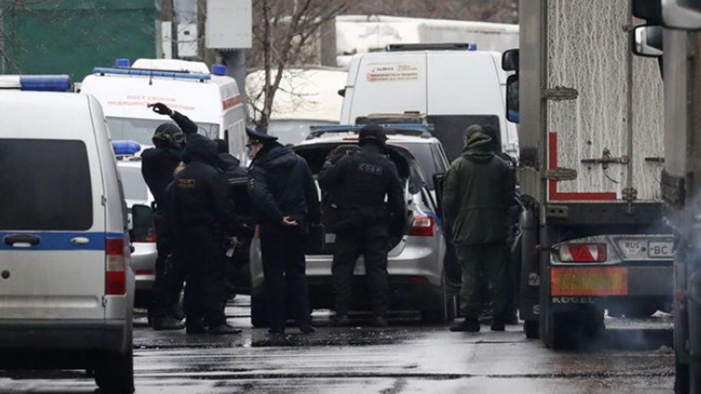 Tiroteo en una fábrica de Moscú: Un muerto y varios heridos