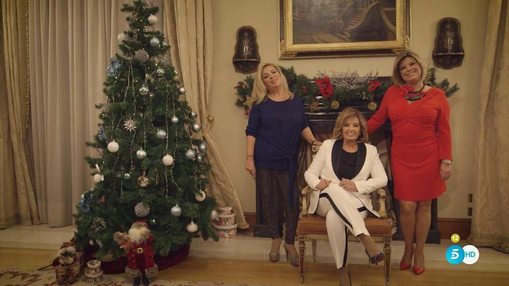 El mensaje navideño de la reina… de la televisión: ¡María Teresa Campos!