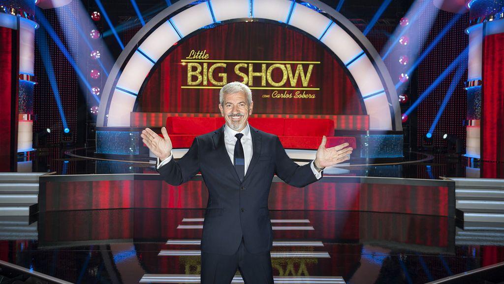 Telecinco estrena 'Little Big Show, un espectáculo de por niños con habilidades presentado por Carlos Sobera