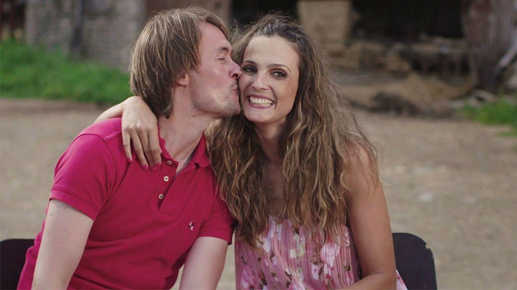 ¡Que viva el amor! David y Patricia se dan su primer beso y entregan sus herraduras para siempre