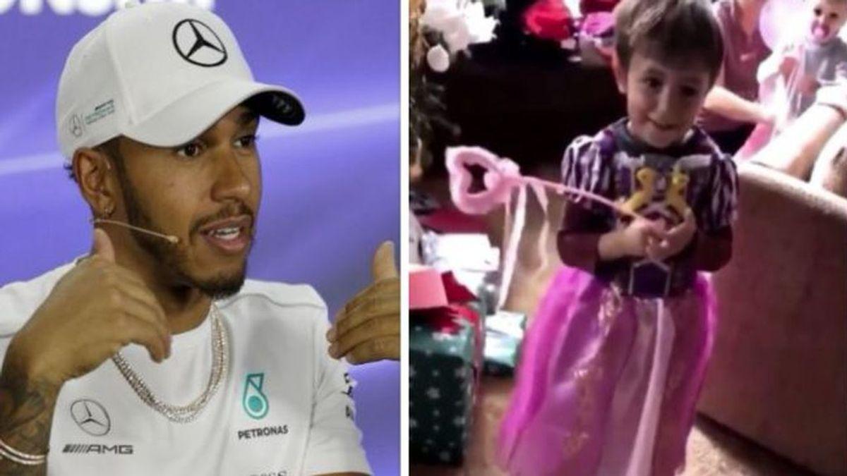 El comentario machista de Hamilton con su sobrino que le obligó a disculparse