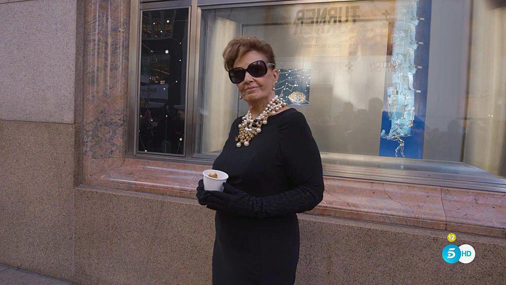 Mª Teresa Campos cumple su mayor sueño a lo 'Desayuno con diamantes'