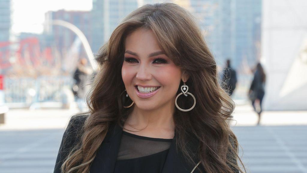 El sorprendente cambio de la cantante Thalía