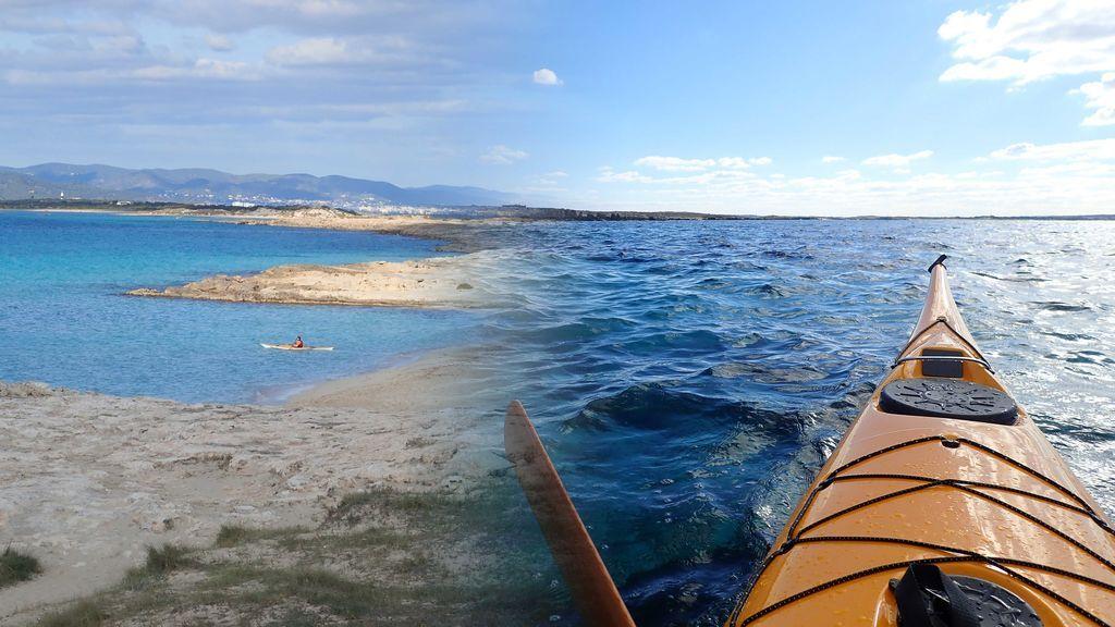La exploración en soledad y en invierno por la isla del Espalmador (Formentera), al detalle