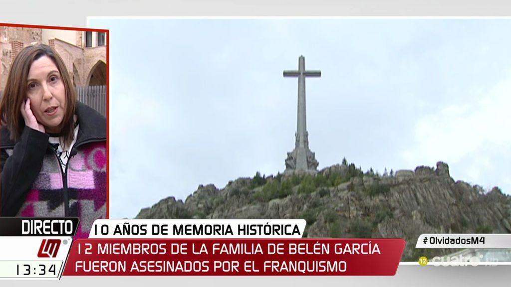 """Belén reivindica la Memoria Histórica: """"Cuando digo que quiero encontrar a mi abuelo, me dicen que sólo son huesos"""""""