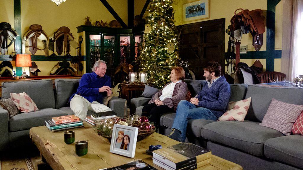 Niña Pastori, Fernando Tejero, Alaska y sus respectivas madres visitan a Bertín Osborne en 'Mi casa es la tuya'.