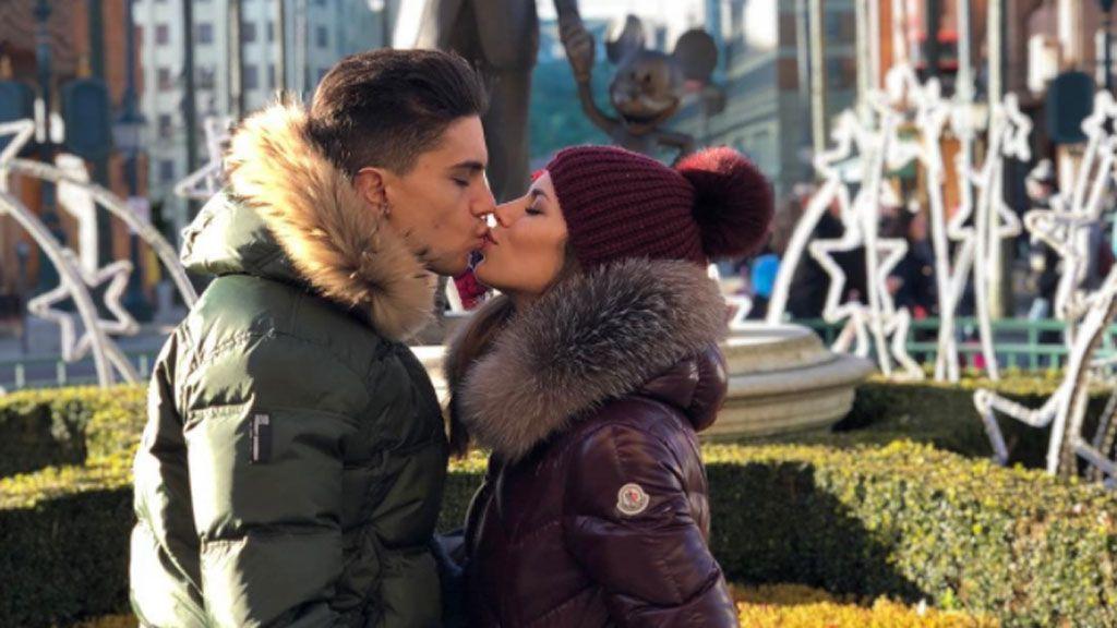 La romántica escapada prepapás de Melissa Jiménez y Marc Bartra a Disney
